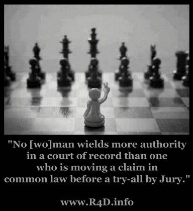 No [wo]man wields more authority in a court of record..