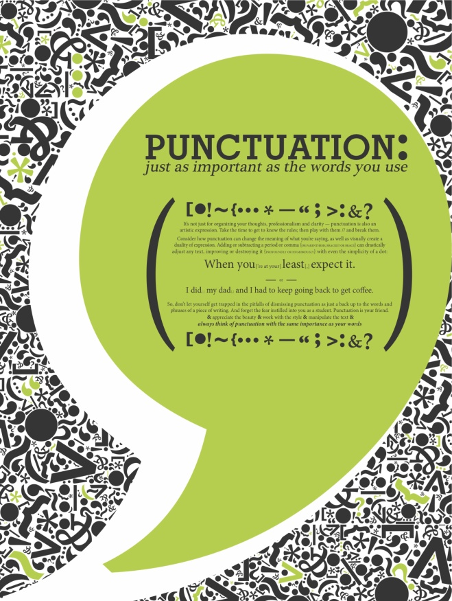 punctuation f