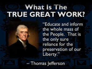 Jefferson & the Great Work