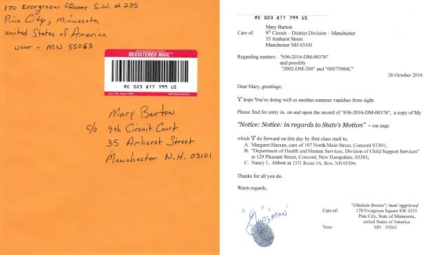 #15a - Dear Mary Barton - for filing Oct 26, 2016