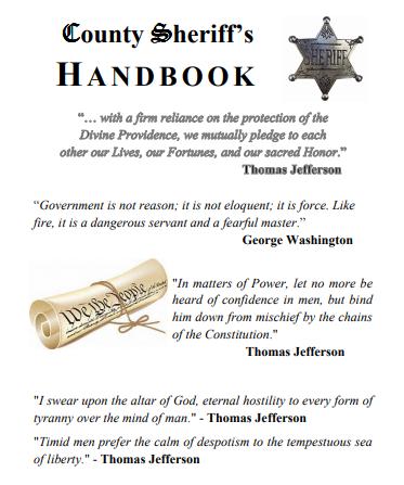 Sheriff handbook